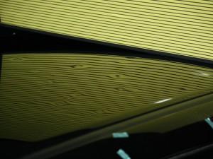 雹害車ルーフヘコミ