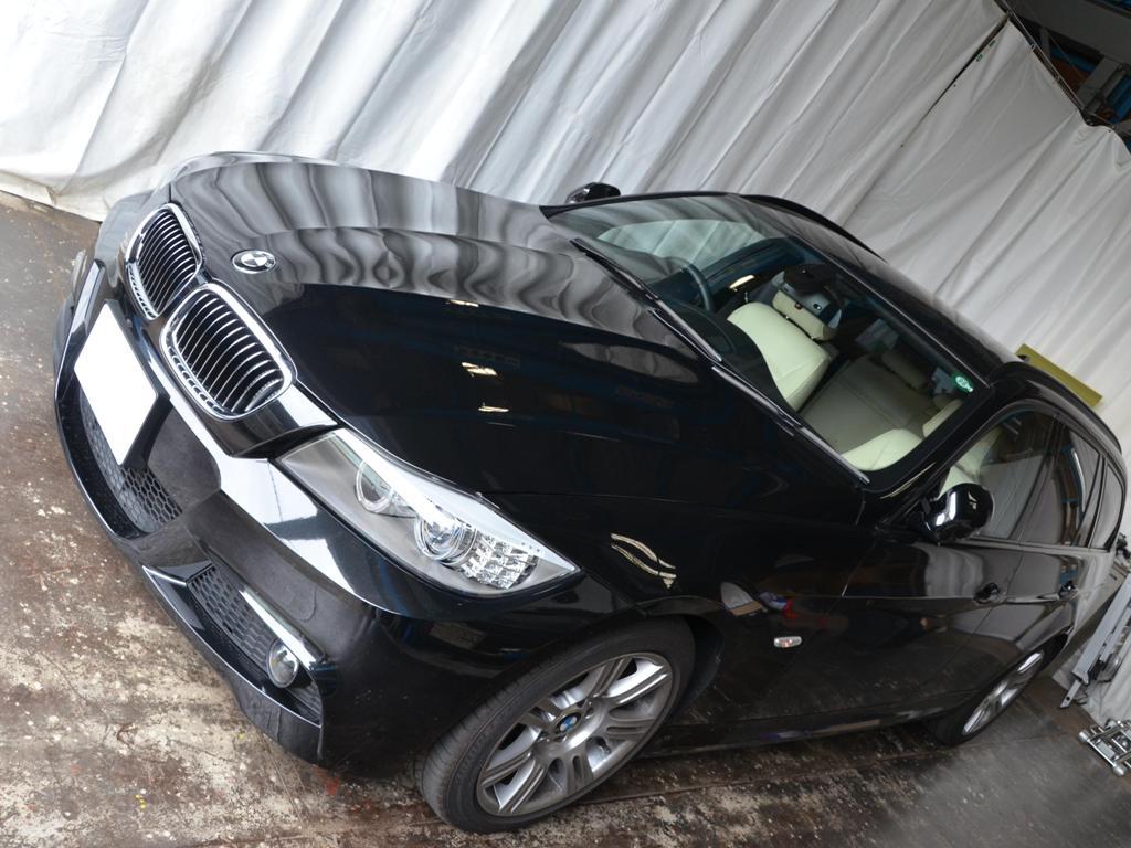 BMW 3シリーズ ボンネット デントリペア