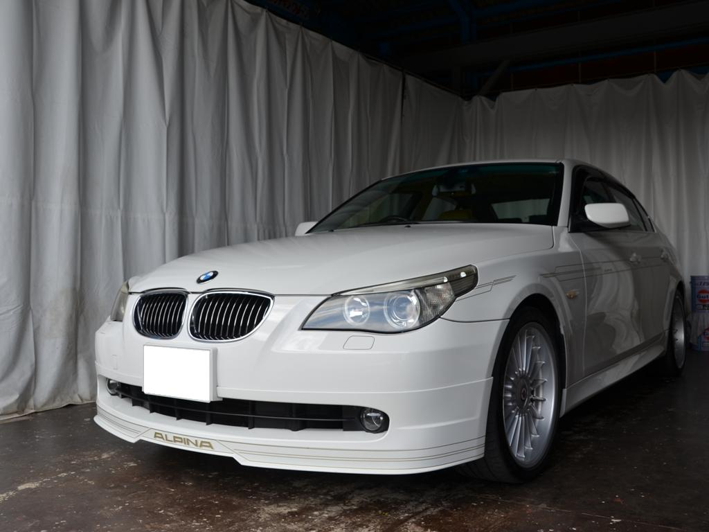BMW ALPINA B5 リヤドア デントリペア