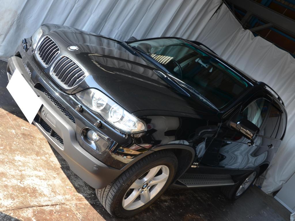 BMW X5 リヤドア デントリペア