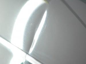 ミラジーノフロントフェンダー修理