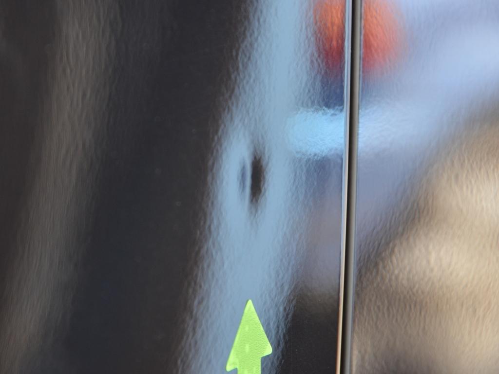 ワゴンRスティングレー ドアのデントリペア前