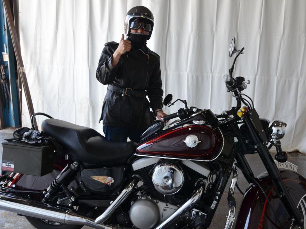 バイクタンクのデントリペアで香川県からご来店
