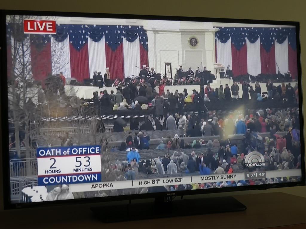 アメリカ大統領就任式LIVE