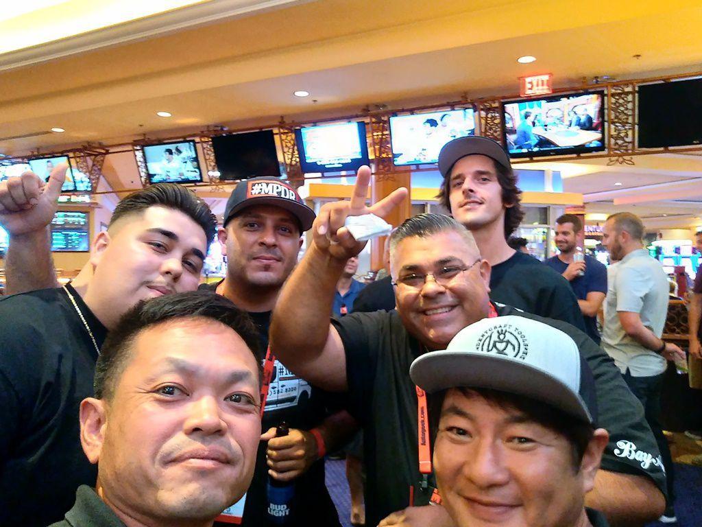 MTE Las Vegasで記念撮影