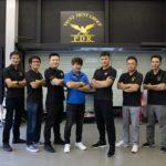 トラストデントグループ 台湾技術者と記念撮影
