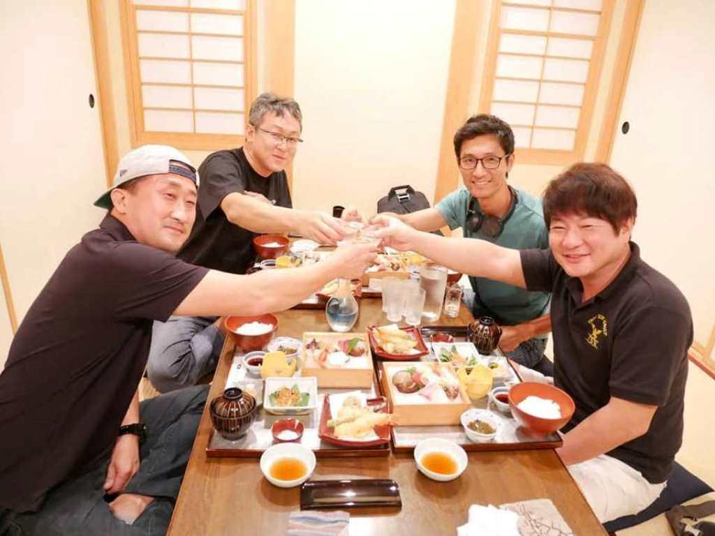 韓国のデントリペア技術者と会合