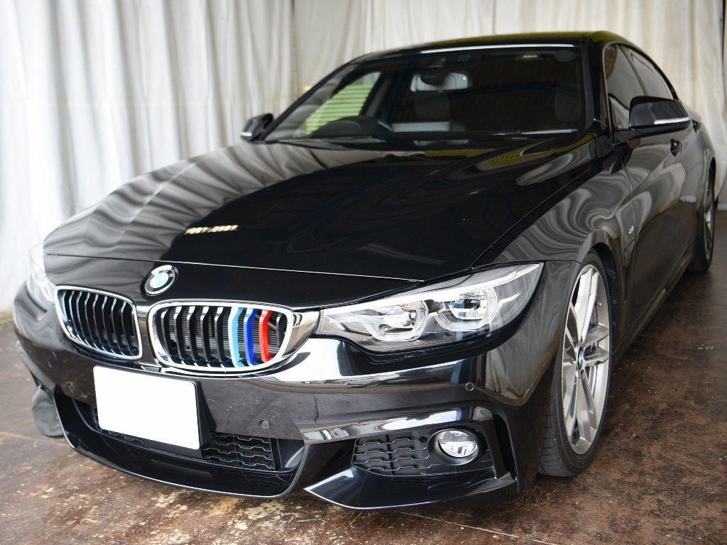 BMW420i デントリペアのご依頼ご来店