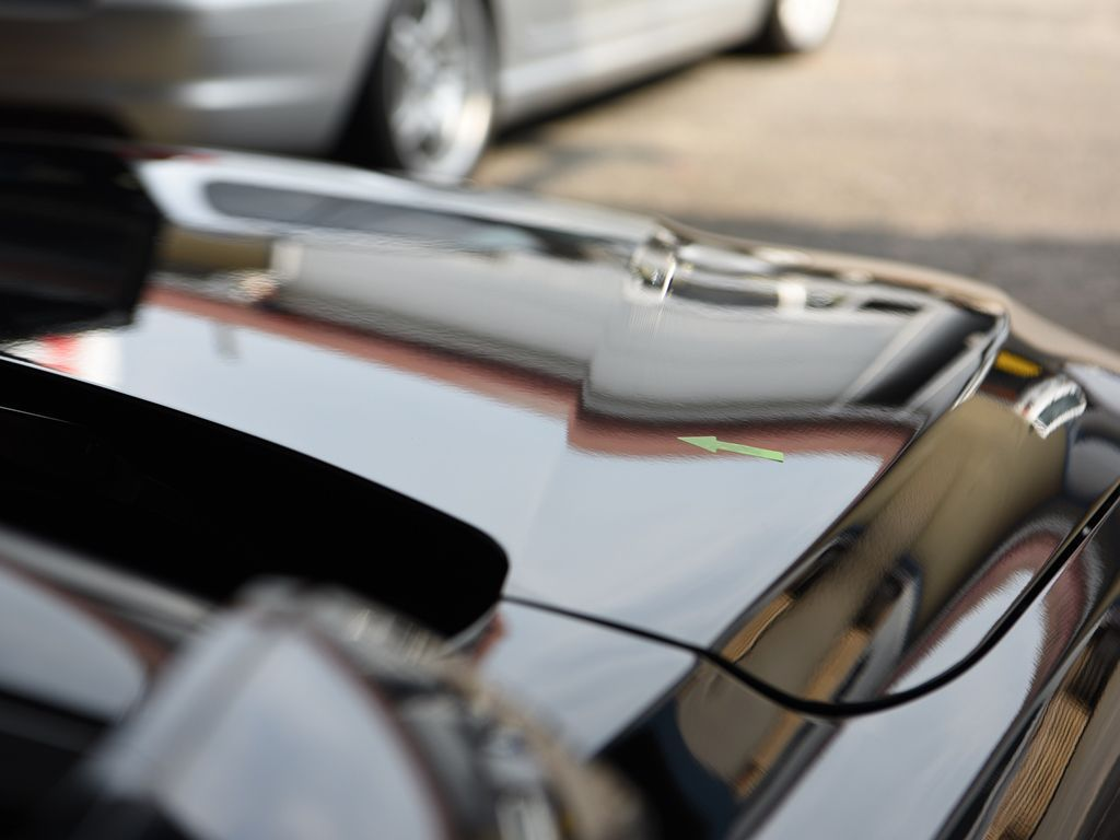 BMW420i ボンネットのデントリペア後