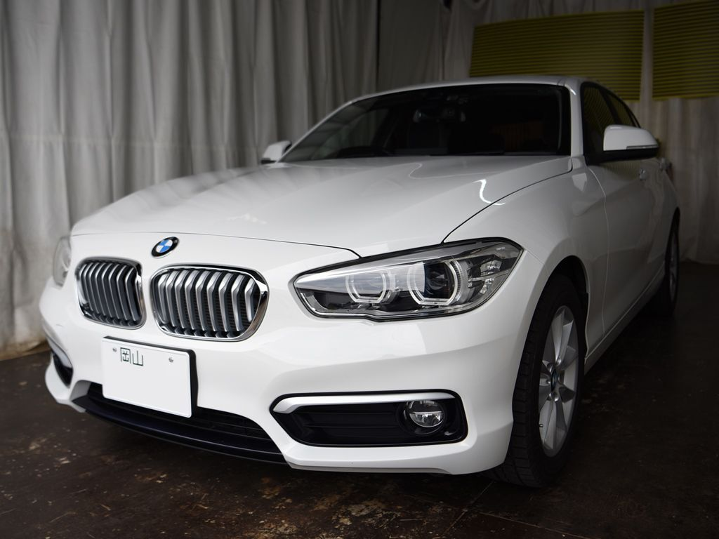 BMW F20 118dデントリペアのご依頼ご来店