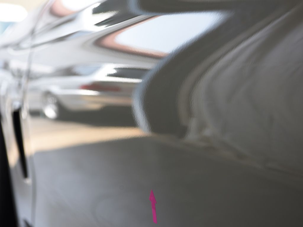 BMW435iクーペ 左ドアのデントリペア後